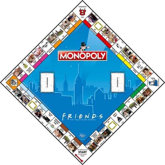 Monopoly Friends bord