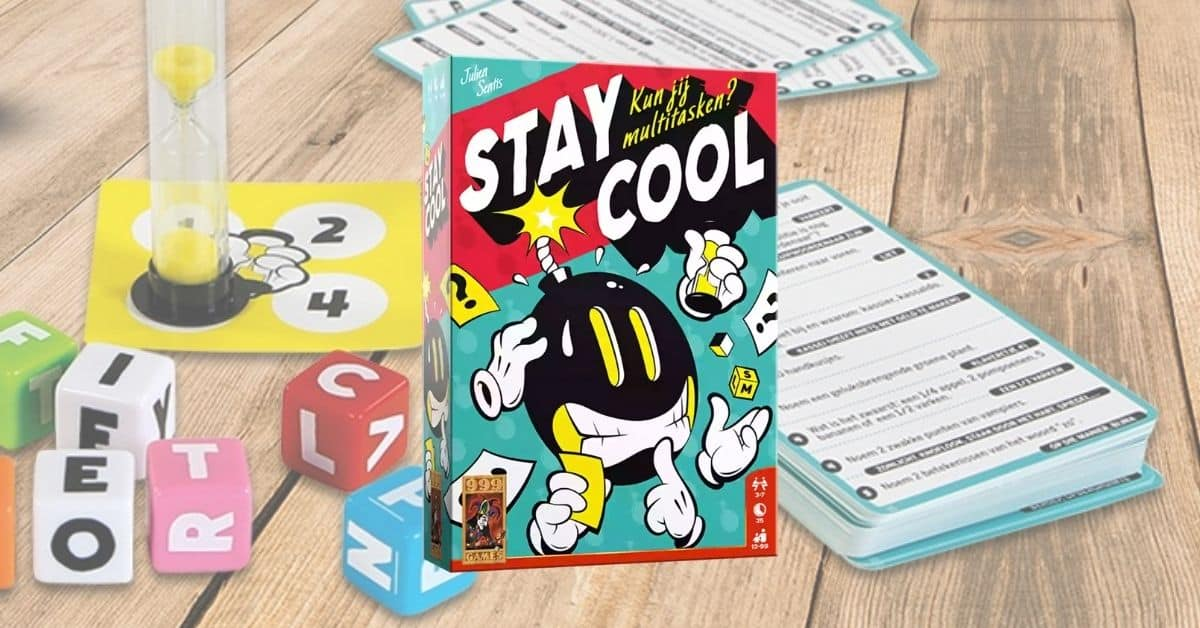 Stay Cool partyspel
