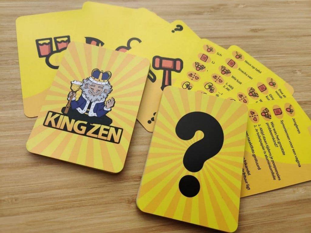 KING ZEN kaarten