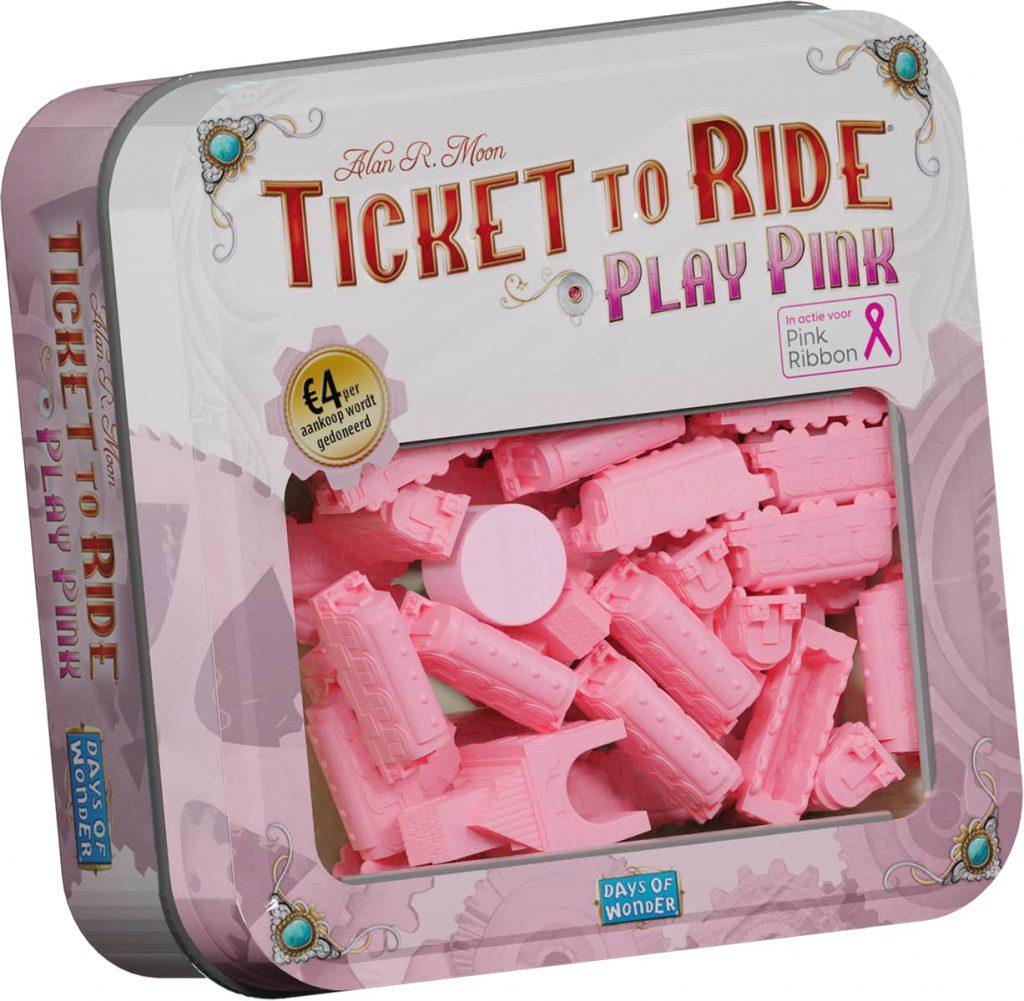Play Pink treinset voor Ticket to Ride