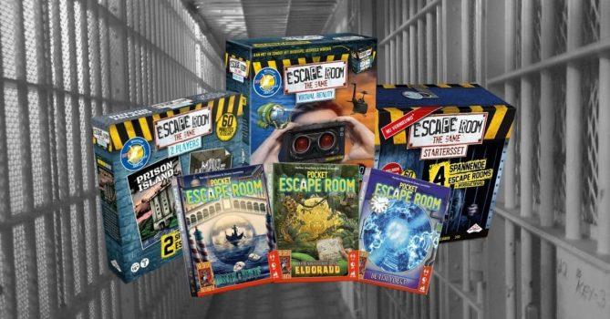 Escape room thuis spellen spelen kind volwassenen